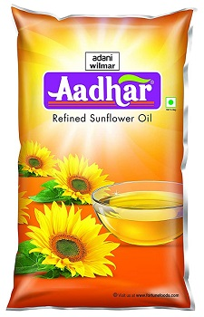 Aadhar Refined Sunflower Oil