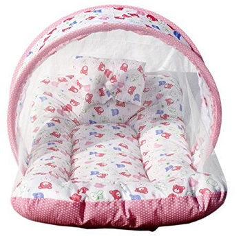 Amardeep and Co Toddler Mattress with Mosquito Net