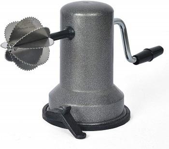 Anjali Sleek Stainless Steel Vacuum Base Coconut Scrapper