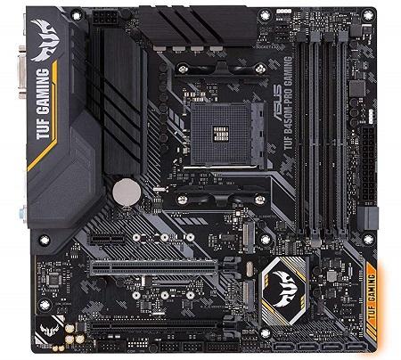 Asus TUF B450M-Pro Gaming AMD Ryzen Motherboard