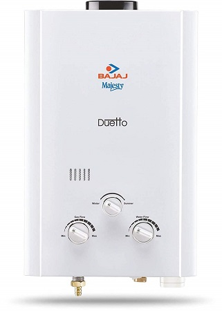 Bajaj Majesty Duo Gas LPG Water Heater