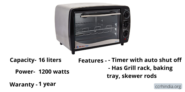Bajaj Majesty TSS Oven Toaster Grill