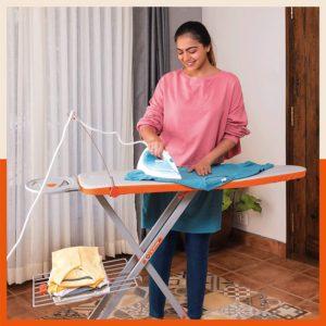 Bathla X-Pres Ace - Large Foldable Ironing Board