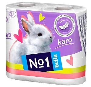 Bella India No1 Karo White Toilet Tissue Roll