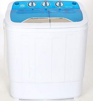 DMR Inverter Mini Twin Tub Portable Semi-Automatic Top Loading Washing Machine