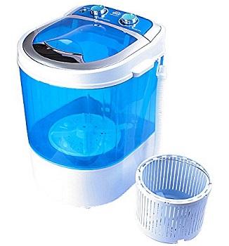 DMR Portable Mini Washing Machine with Dryer Basket
