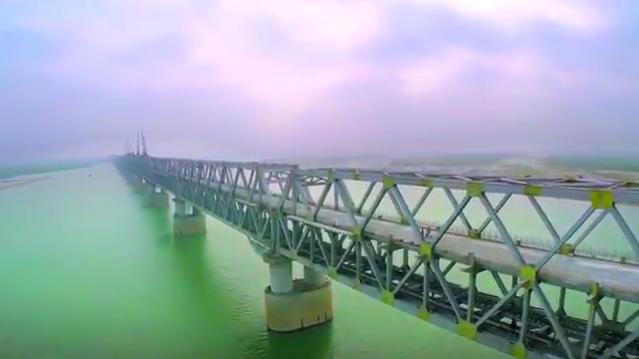 Digha-Sonpur rail road bridge