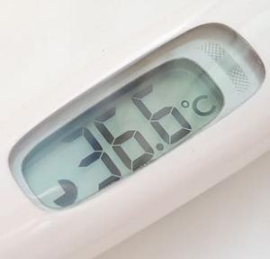 Digital Thermoeter Displaying Accurate Temperature