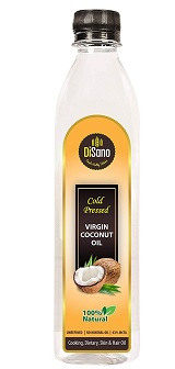 Disano Cold Press Virgin Coconut Oil Bottle