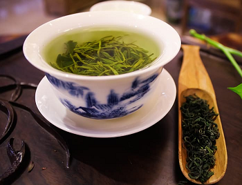 Dragonwell green tea cup