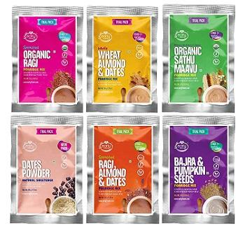 Early Foods Organic Porridge Mixes