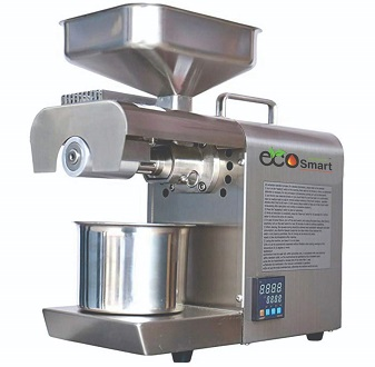 EcoSmart 600 Watt Organic Stainless Steel Temperature Controller Oil Press Machine