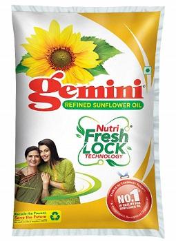 Gemini Refined Sunflower Oil
