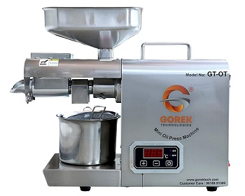 Gorek Technologies GT-OT Stainless Steel Oil Press Machine