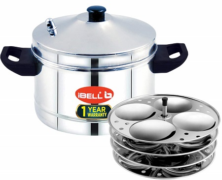 IBELL Idly Cooker Stainless Steel