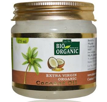 Indus Valley Bio Organic Extra Virgin Coconut Oil for Baby Massage