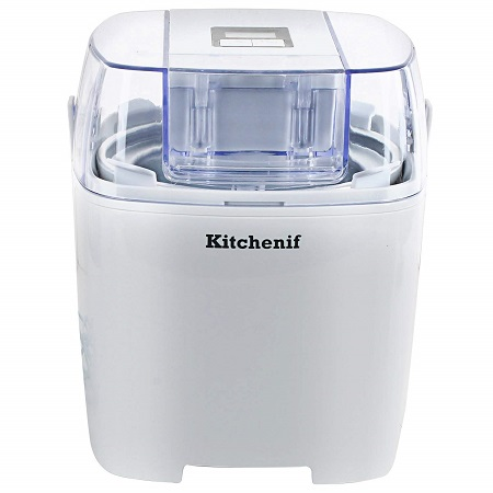 Kitchenif Digital Ice Cream Maker Machine