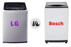 LG vs Bosch Washing Machine – Which Brand is Better?