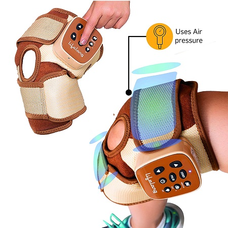 Lifelong Rechargeable Pain Relief Knee Massager for Arthritis