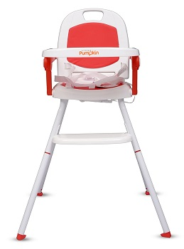 Little pumpkin Kiddie Kingdom 3 in 1 Foldable High Chair for Baby
