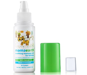 Mamaearth Soothing Massage Oil for Baby