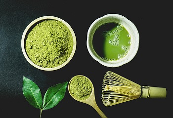 Matcha green tea ingredients