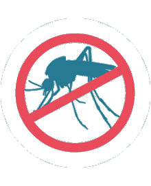 Mosquitos control sign