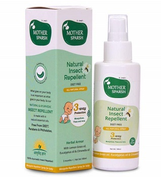 Mother Sparsh Natural Insect Repellent for Babies
