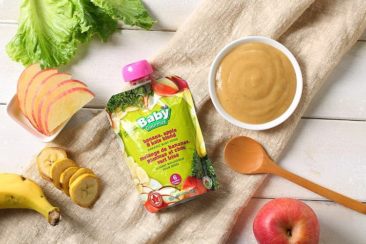 Natural and Packed Baby Food