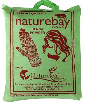 NatureBay Naturals 100% Pure Henna Powder