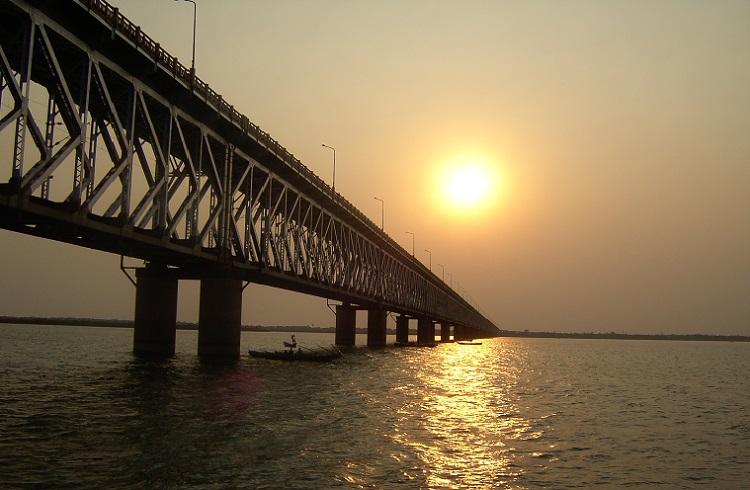 New Godavari Bridge at Rajahmundry