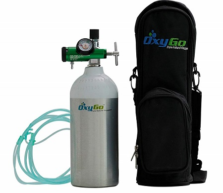 OxyGo Portable Light Medical Oxygen Cylinder