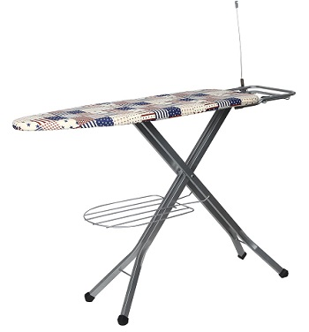 Paffy Folding Ironing Board With Multi-Function Tray