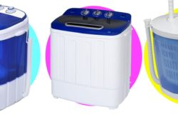 5 Mini Portable Washing Machines for Easy Clothes Wash (even in Bucket!)