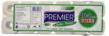 Premier Tissues Toilet Tissue