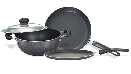 Prestige Omega Non-Stick Kitchen Set