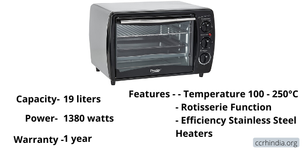 Prestige POTG Oven Toaster Grill