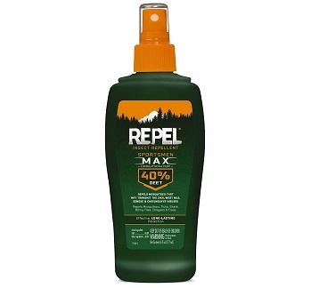 Repel Sportsmen Max Insect Repellent 40-Percent DEET Pump Spray