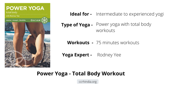 Rodney Yee Power Yoga - Total Body Workout DVD Review