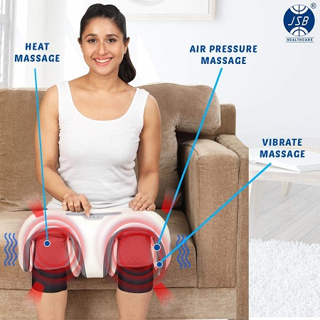 JSB HF156 Wireless Knee Joint Massager for Arthritis