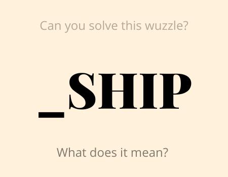 _SHIP Wuzzle Puzzle