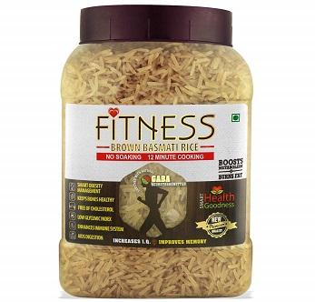SHRILALMAHAL Fitness Brown Basmati Rice