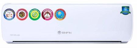 SINFIN Solar PCU Compatible 1.5 Ton Hot & Cold Split AC