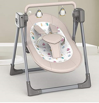 StarAndDaisy Baby Swing Electric Cradle Rocking Chair