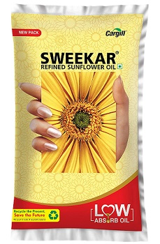 Sweekar Refined Sunflower Oil