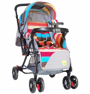 Tiffy & Toffee 3 in 1 Baby Stroller