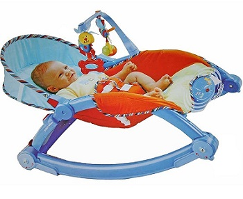Toyshine Newborn to Toddler Vibrating Rocker Chair