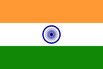 Tricolour flag of India