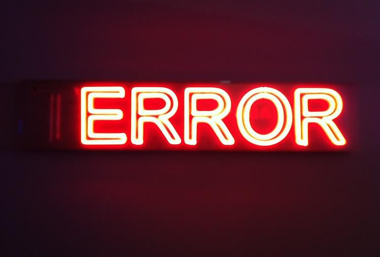 Washing Machine Error Codes