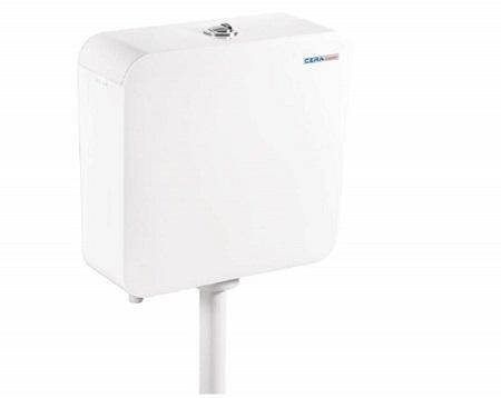 cera COMPASS Twin Flush Plastic Cistern
